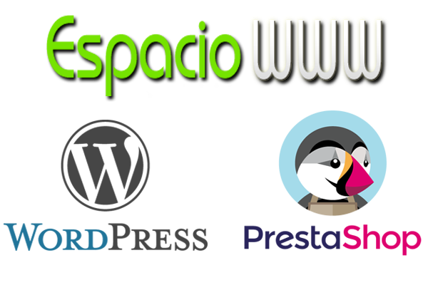 wordpress y prestashop espacciowww
