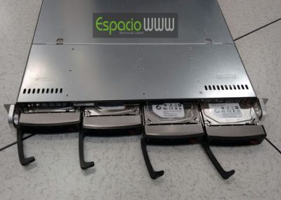 Cambio de tarjetas controladoras de discos