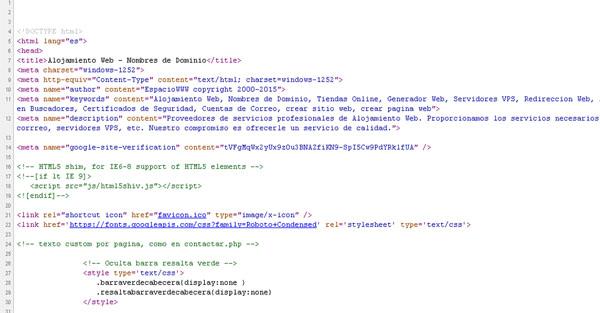 Desarrollo puro tecnica para crear web