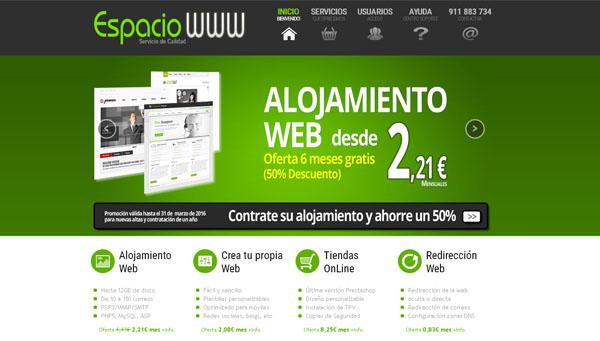 Hosting y Alojamiento Web servicios de hosting de calidad contrata tu hosting en españa