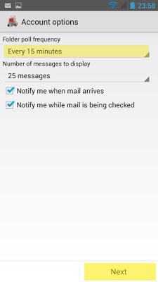 Configuración correo Pop3 en Android - paso8