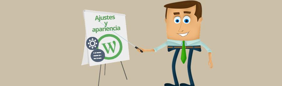 WordPress – Ajustes generales y apariencia