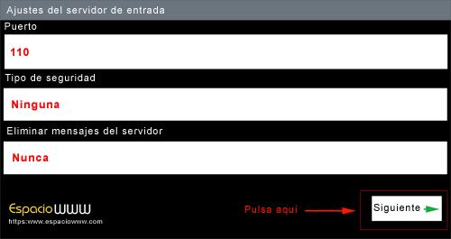 Configurar correo android - paso 4.1
