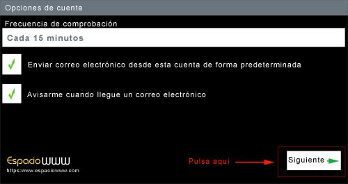 Configurar correo android - paso 6