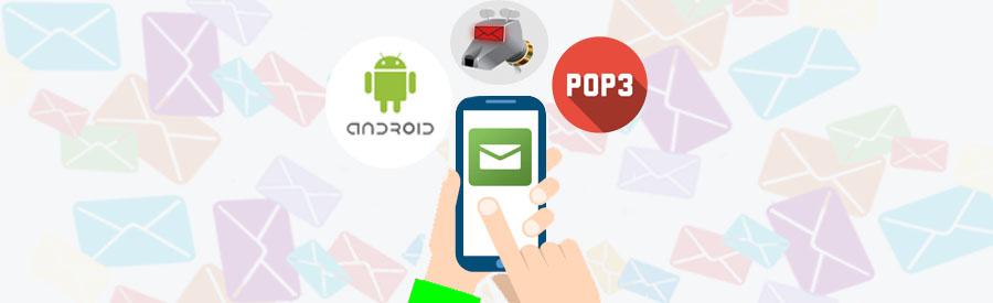 Configuración de una cuenta de correo Pop3 en Android con la aplicaccion K-9 Mail