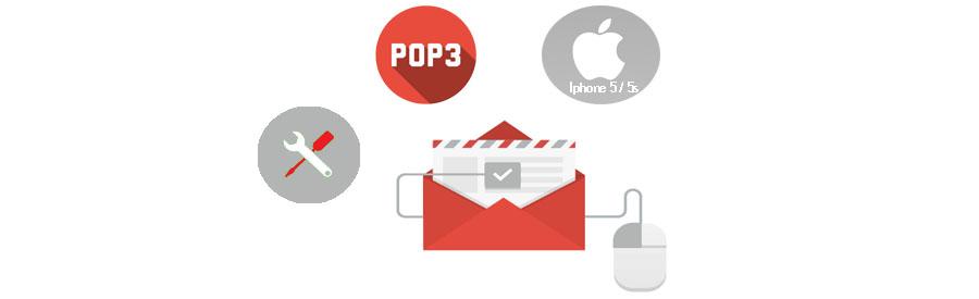 ¿ Cómo configurar una cuenta de correo POP3 en Iphone 5 / 5s ?