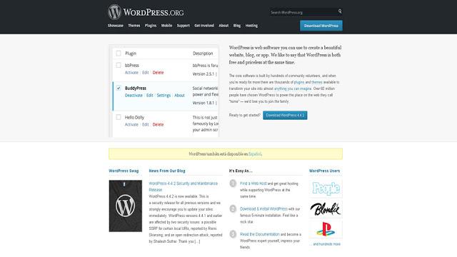 descarga wordpress para instalación en servidor