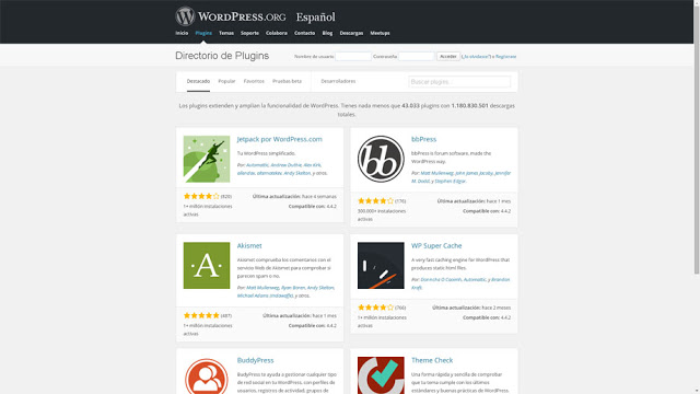 WordPress - plugins de wordpress