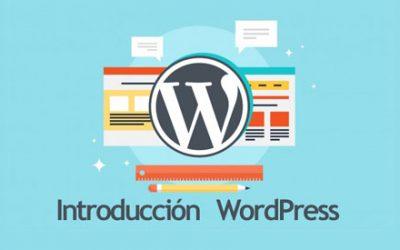 Introduccion al escritorio de WordPress