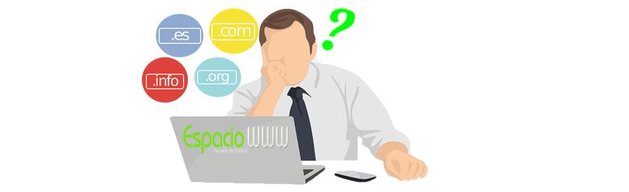 Nombres de dominio – ¿ Que es un nombre de dominio ?