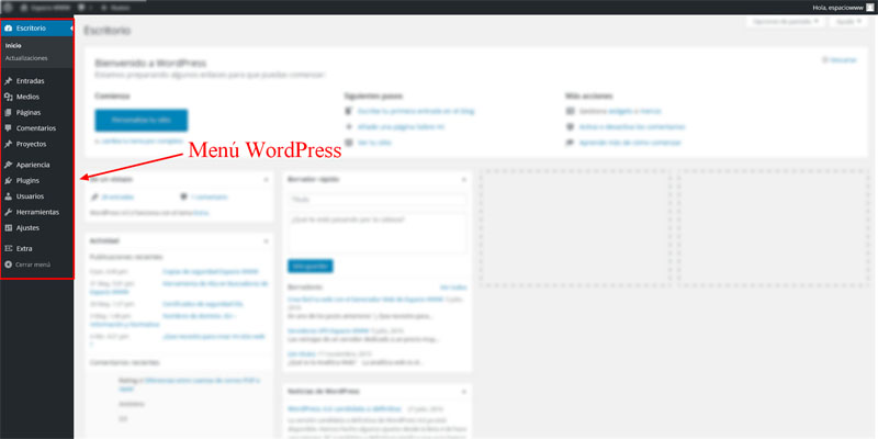 Menu-wordpress