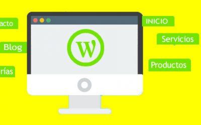 ¿ Cómo crear un menú en WordPress ?