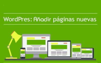 Añadir y editar páginas en WordPress