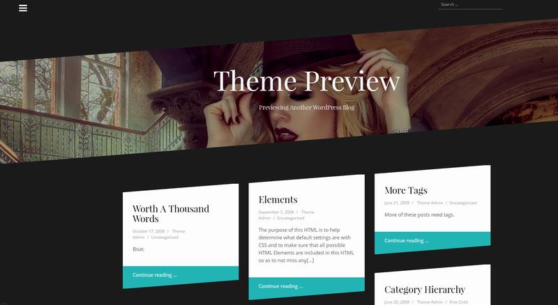 oblique - plantilla responsive diseño web wordpress