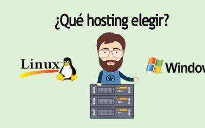 ¿Qué hosting elegir, Linux o Windows?