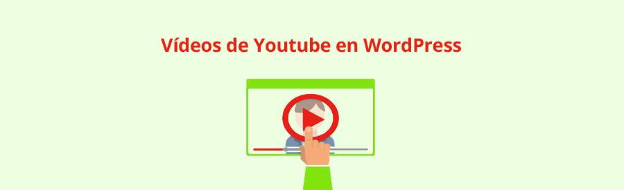 ¿Cómo insertar vídeos de Youtube en entradas o páginas en WordPress ?