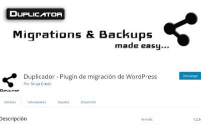 Cómo migrar WordPress hacia EspacioWWW con Duplicator