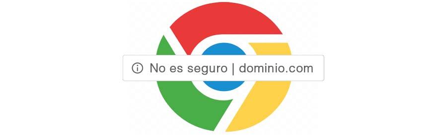 """Nuevos avisos de Google sobre webs """"no seguras"""""""